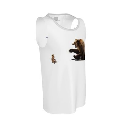 Brunt ~ Wordless Animal Behaviour Cut and Sew Vest