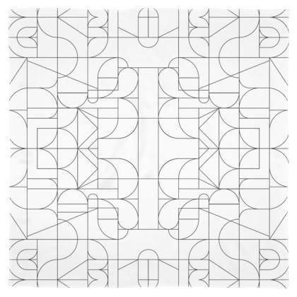 Scarf - Kaleidoscope Lines