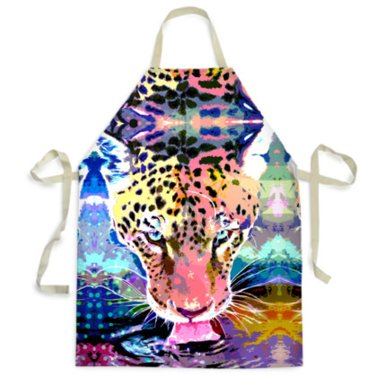 Jaguar Mens Apron