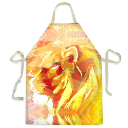 King of the Jungle Mens Apron