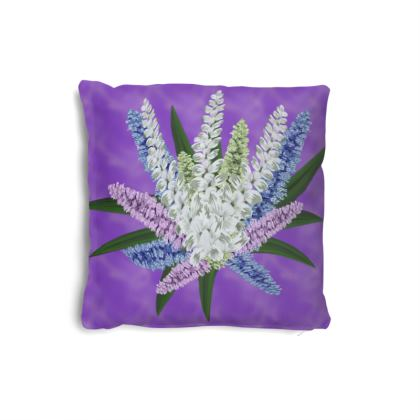 Bouquet Brushed Twill Cushions