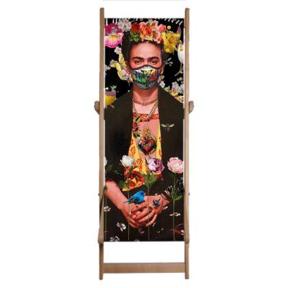 Single Deckchair Replacement Sling Frida Lockdown 2020