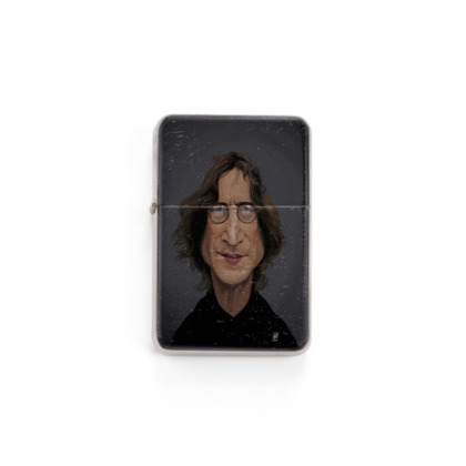 John Lennon Celebrity Caricature Lighter