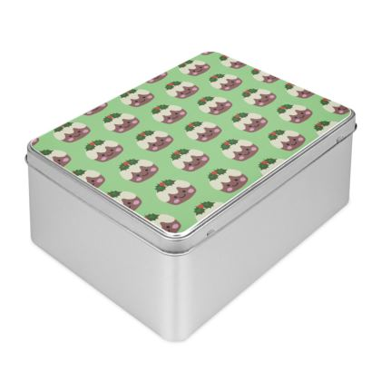 Christmas Pudding 1 Biscuit Tin