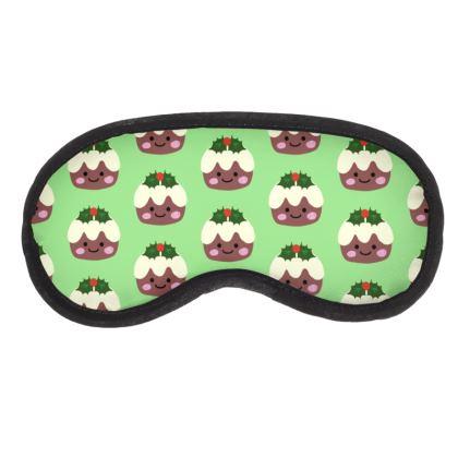 Christmas Pudding 1 Eye Mask