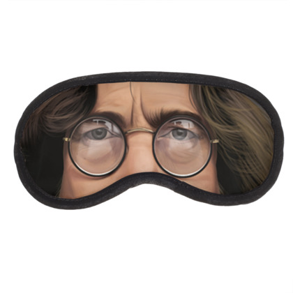 John Lennon Celebrity Caricature Eye Mask