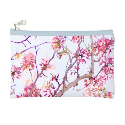 Pink blossom in the sunshine pencil case