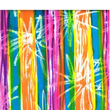 Rainbow Stripes Espadrilles