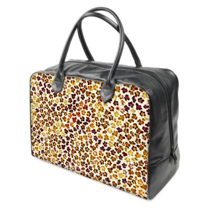 Leopard Skin Collection Holdalls