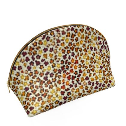 Leopard Skin Collection Shell Coin Purse