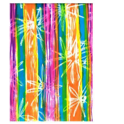 Rainbow Stripes Deckchair