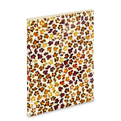 Leopard Skin Collection Pocket Note Book