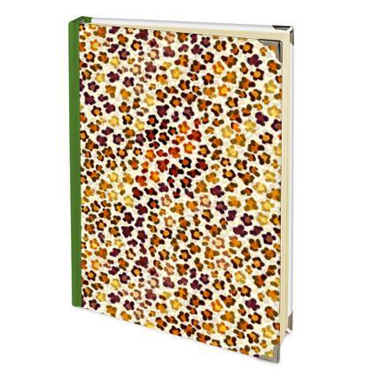 Leopard Skin Collection Journals