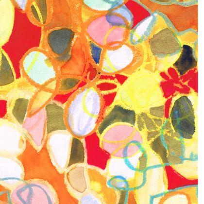 Pebble Mosaic Double Deckchair
