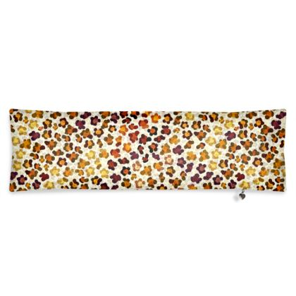 Leopard Skin Collection Bolster Cushion