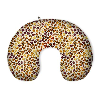 Leopard Skin Collection Neck Pillow