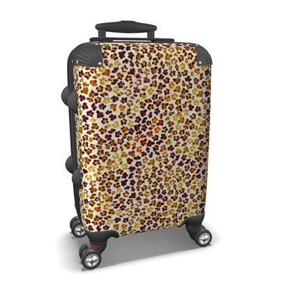 Leopard Skin Collection Suitcase