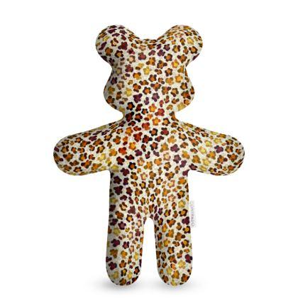 Leopard Skin Collection Teddy Bear