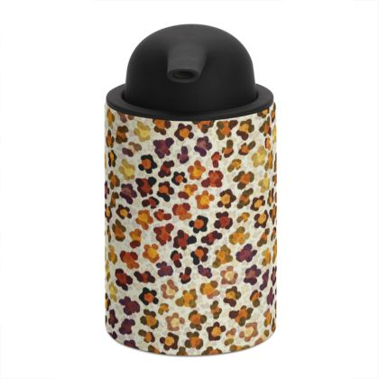 Leopard Skin Collection Soap Dispenser