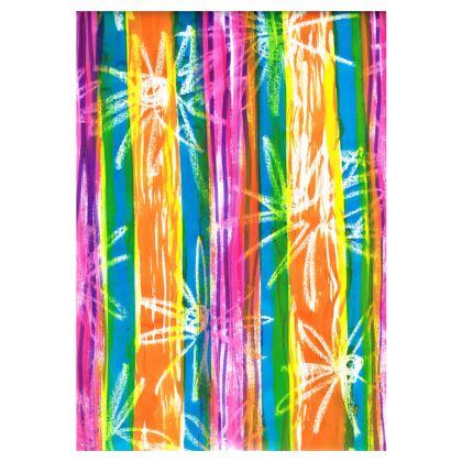 Rainbow Stripes Double Deckchair