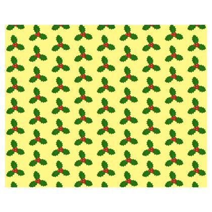 Holly Leaf Pattern Kimono