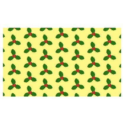 Holly Leaf Pattern Skirt