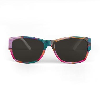 Blocks & Stripes Sunglasses
