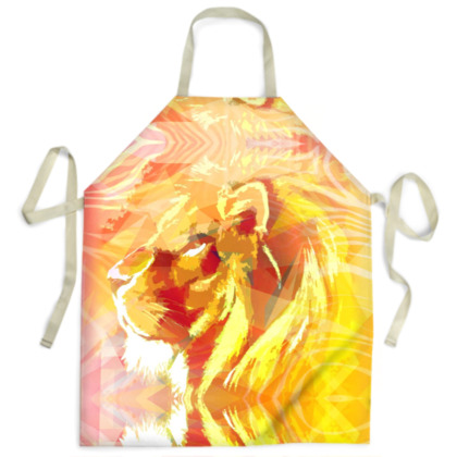 King of the Jungle Ladies Apron