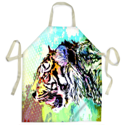 Sumatran Tiger Ladies Apron