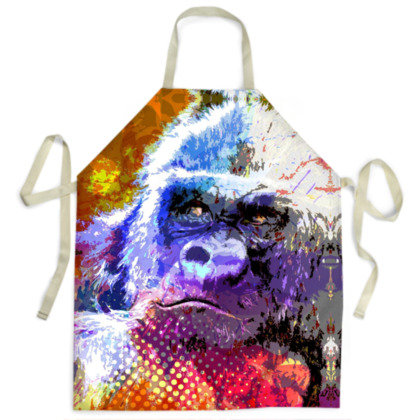 Mountain Gorilla Ladies Apron