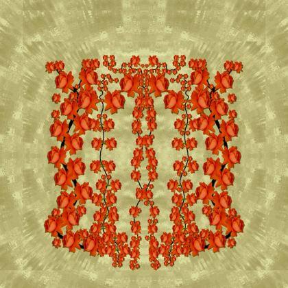 roses decorative Kimono Jacket