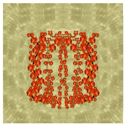 roses decorative Espadrilles