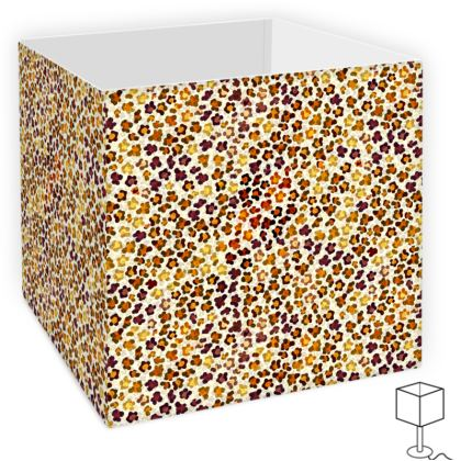 Leopard Skin Collection Square Lamp Shade