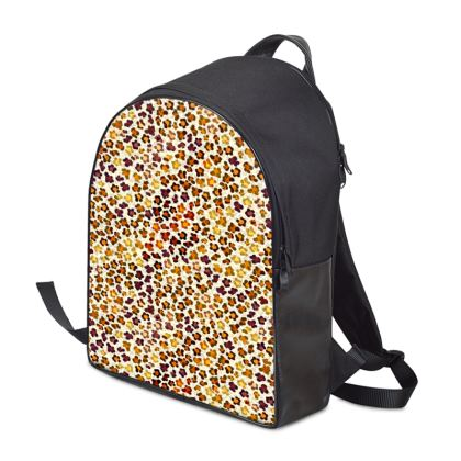 Leopard Skin Collection Backpack