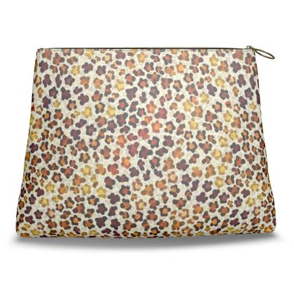 Leopard Skin Collection Clutch Bag