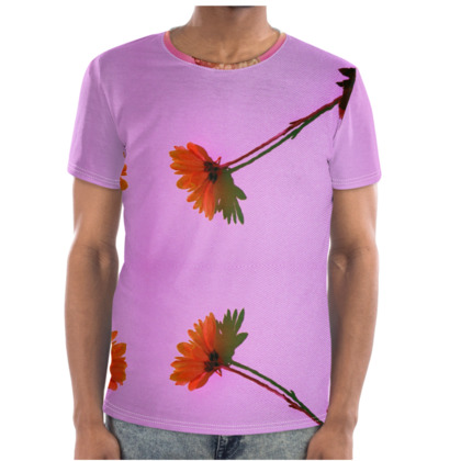 Digi Floral Cut and Sew T Shirt