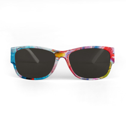 Abstract Painting Sunglasses