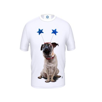 A Pug's Life ~ Wordless Animal Behaviour Cut and Sew T Shirt