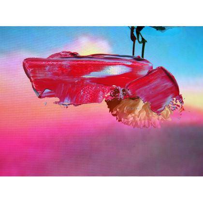 Digi Abstract Floral Handbags