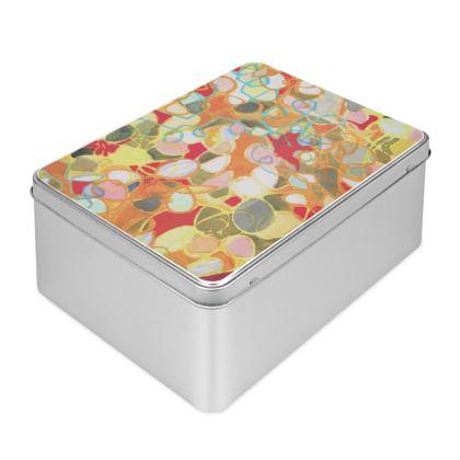 Pebble Mosaic Biscuit Tin