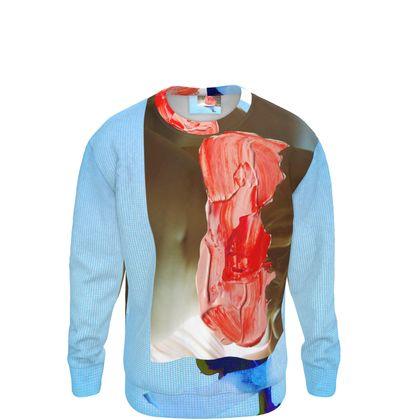 Abstract Nude Sweatshirt