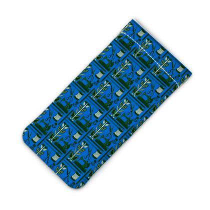 Nostalgia Blue Phone Slip Case