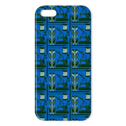 Nostalgia Blue iPhone Case