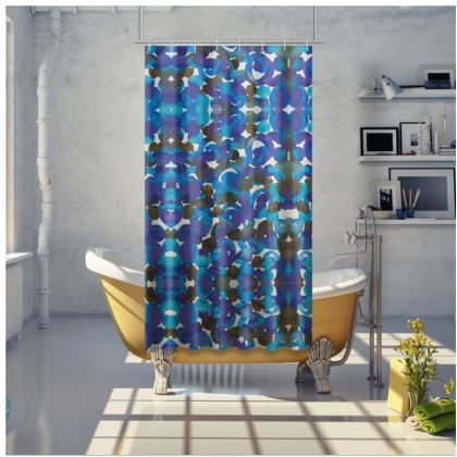 Dreamy Watercolor Shower Curtain
