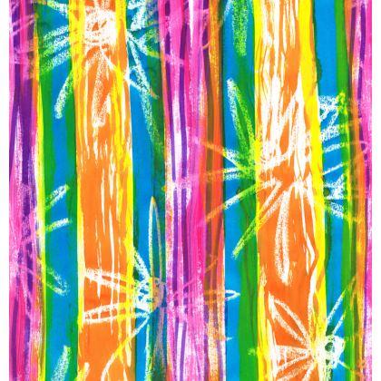 Rainbow Stripes Ornamental Bowl