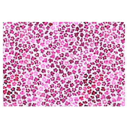 Leopard Skin in Magenta Collection Occasional Chair