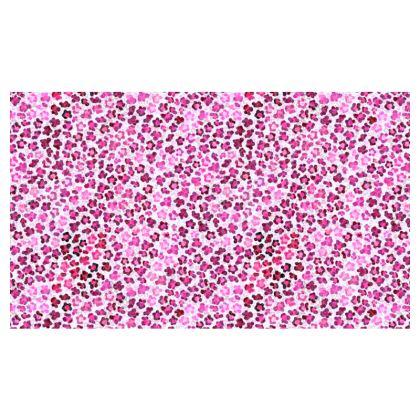 Leopard Skin in Magenta Collection Kika Tote
