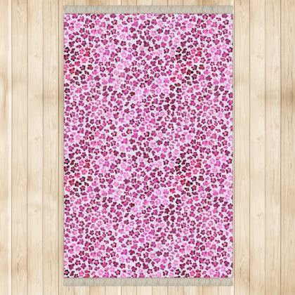 Leopard Skin in Magenta Collection Rugs
