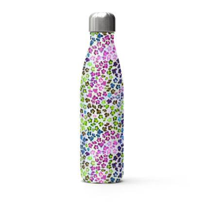 Leopard Skin Multicoloured Collection Stainless Steel Thermal Bottle