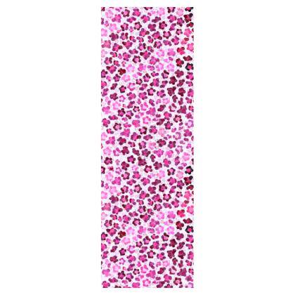 Leopard Skin in Magenta Collection Deckchair